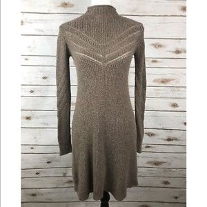 NWT brown american eagle sweater dress!!!